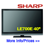 Sharp Aquos LC40LE700E