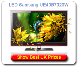 UE40B7020W - Samsung LED UK Prices