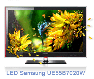 UE55B7020W - Samsung LED Product Information